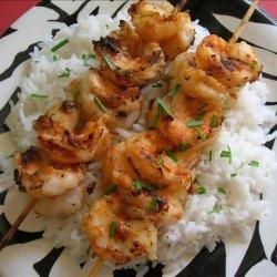 5 Minute Thai Shrimp Satay recipe