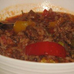 Mama D's Stuffed Pepper Soup recipe