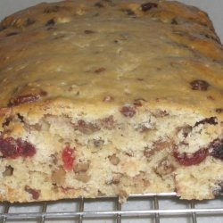 Cranberry Orange Bread With Orange Butter recipe