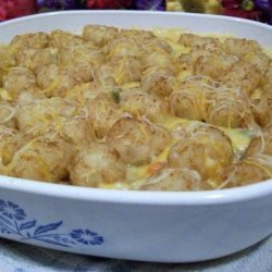 Chicken Tater Bake recipe