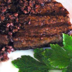 Fillet Steak Cooked in Red Wine recipe