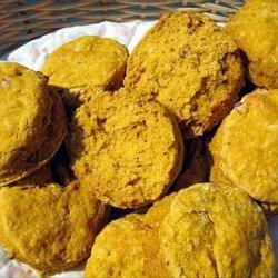 Pecan Pumpkin Biscuits recipe