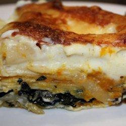 Pumpkin Lasagna recipe