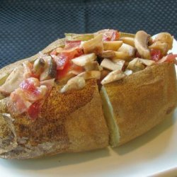 Bacon-Mushroom Baked Potato Topping recipe