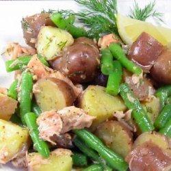 Salmon, Potato & Dill Salad recipe