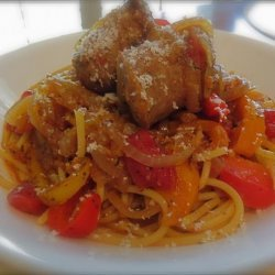 Italian Sausage and Bell Peppers recipe