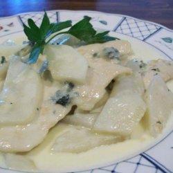 Blue Cheese Pear Chicken recipe
