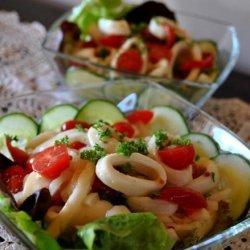 Calamari, Tomato and Caper Salad recipe