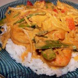 Red Curry Shrimp recipe