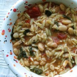 Chicken Bean Soup recipe