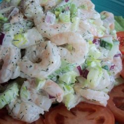 Chopped Shrimp Salad recipe
