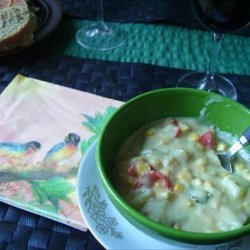 Vegan Corn & Vegetable Chowder recipe