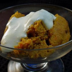 Pumpkin Carrot Pudding (Kugel) recipe