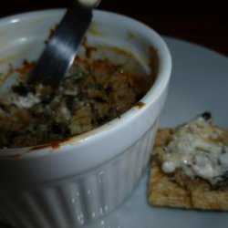 Warm Blue Cheese Spread With Pecans recipe