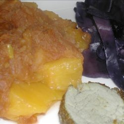 Spiced Sweet Potatoes in Peaches recipe