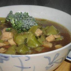 Broccoli Chicken Soup (Hcg - Phase 2) recipe