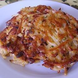 Cajun Potato Latkes recipe