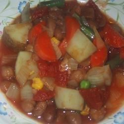 Quick Vegetable Curry recipe