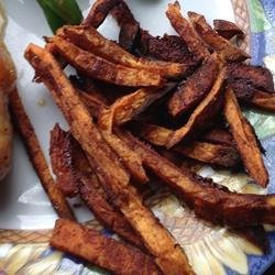 SWEET, Sweet Potato Fries recipe