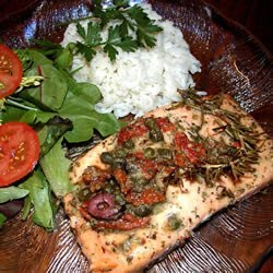 Salmon with Dijon Vinaigrette recipe