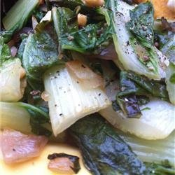 Stir Fried Bok Choy recipe