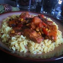 Slow Cooker Latin Chicken recipe