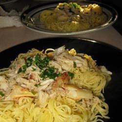 Astoria Crab Pasta recipe