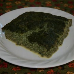 Baked Tofu and Spinach recipe