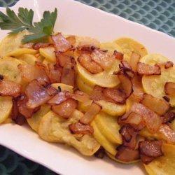 Squash Sauteed With Onions recipe