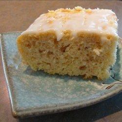 Inside out Lemon Cake With Lemon Glaze recipe