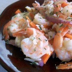 Johnny Jalapeno's 'cancun Vacation' Citrus Shrimp Medly recipe