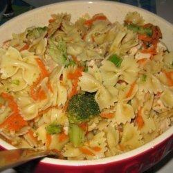 Ila's Cold Chicken and Pasta Caesar Salad recipe