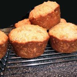 Sweet Golden Pineapple Muffins recipe