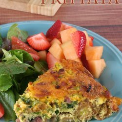 Ham and Cheese Frittata recipe