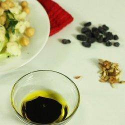 Cauliflower Spinach Salad recipe