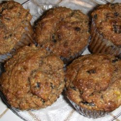 Banana, Bran and Prune Muffins recipe