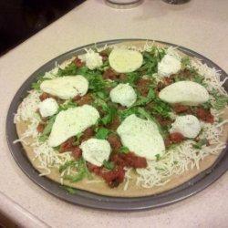 Winter Margherita Pizza recipe
