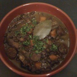 Brazilian Black Bean Stew recipe