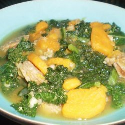 Sausage, Kale and Sweet Potato Soup recipe