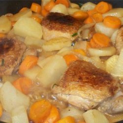 Chicken and Potato Skillet Dinner recipe