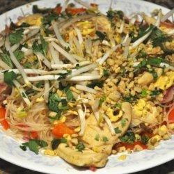 Lemony Pad Thai recipe
