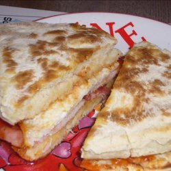 Hot Breakfast Sandwich recipe
