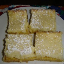 Rich Butter Cake Bars recipe