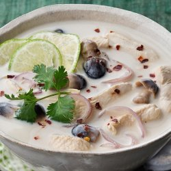 Thai Chicken and Coconut Soup recipe