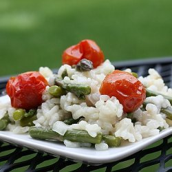 Risotto With Asparagus recipe