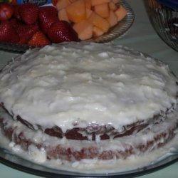 Ginger - Macadamia - Coconut - Carrot Cake! recipe