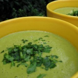 Vegan Cream of Spinach Soup recipe