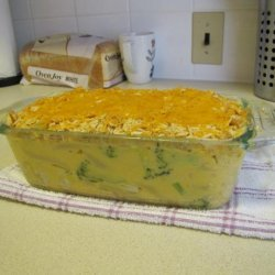 Cheesy Chicken Broccoli Casserole recipe