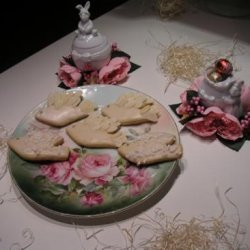 """Italian Easter Cookies: """"frosted Dove"""" recipe"""