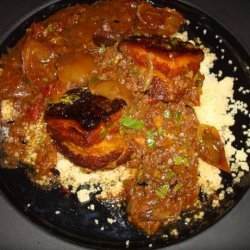 Moroccan Spiced Stewed Pork Belly in a Slow Cooker recipe